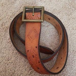 A&F leather belt